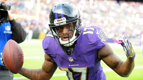 Baltimore Ravens: Wide receiver