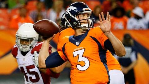 Trevor Siemian -- Denver Broncos