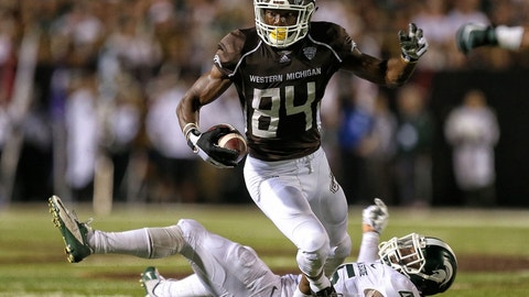 Steelers: Corey Davis, WR, Western Michigan