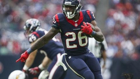 Lamar Miller, RB, Texans (ankle): Questionable