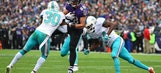 Flacco, Pitta connect again at expense of Dolphins in rout