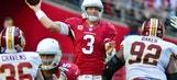 Arizona Cardinals hold lead at halftime