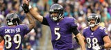 Joe Flacco and the Ravens' passing offense explode as Baltimore obliterates Miami