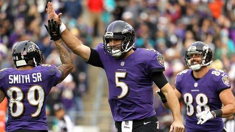 Joe Flacco -- Baltimore Ravens