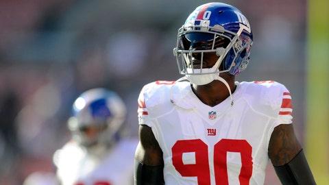 New York Giants: Jason Pierre-Paul, DE