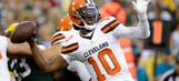 Browns reportedly plan to start Robert Griffin III against Bengals on Sunday