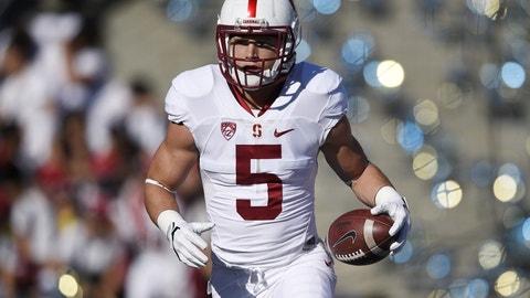 Christian McCaffrey, RB, Stanford