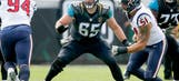 Brandon Linder the 16th best offensive lineman in the NFL according to Pro Football Focus
