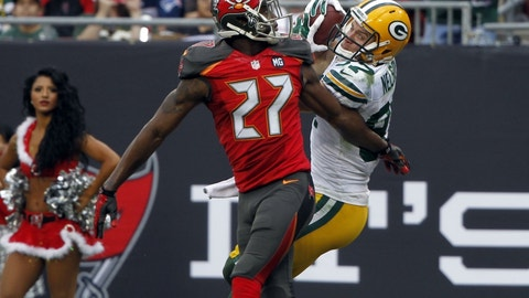 December 3: Tampa Bay Buccaneers at Green Bay Packers, 1 p.m. ET