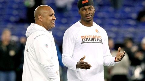 Cleveland Browns: QB Robert Griffin III