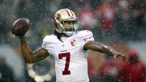 San Francisco 49ers: QB Colin Kaepernick