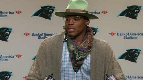 Cam Newton, QB, Panthers (shoulder): Questionable