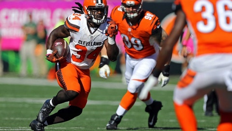 November 26: Cleveland Browns at Cincinnati Bengals, 1 p.m. ET