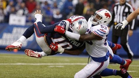 December 3 - New England Patriots at Buffalo Bills, 1 p.m. ET