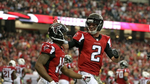 FALCONS (-13.5) over 49ers (Over/under: 51.5)