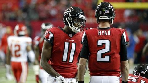Atlanta Falcons: +1200