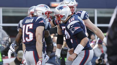 AFC #1 seed: New England Patriots (12-2)