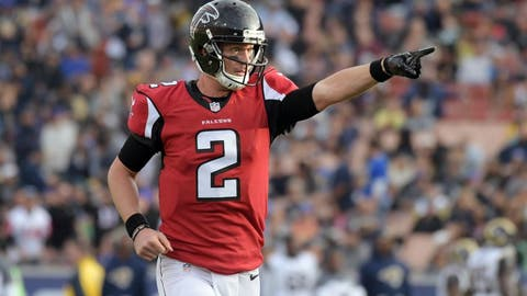Falcons (-2.5) over PANTHERS (Over/under: 52)