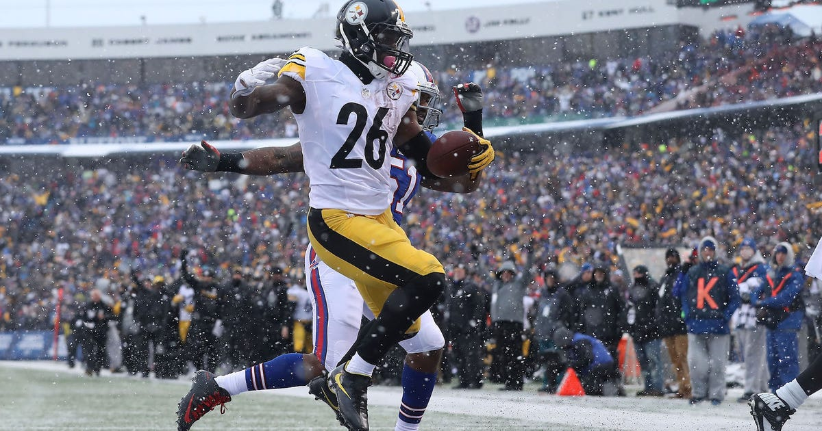 Image result for le'veon bell snow