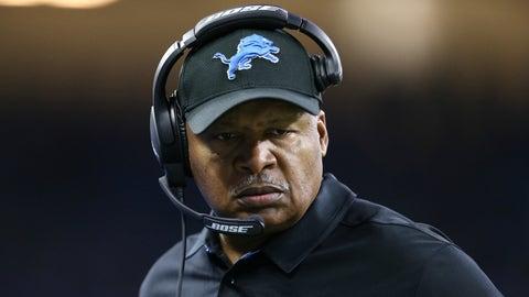 Jim Caldwell, Detroit Lions