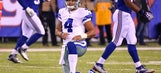 Benching Dak Prescott would be a major overreaction for the Cowboys