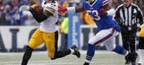 NFL roundup: Steelers ride Le'Veon Bell's record day to win