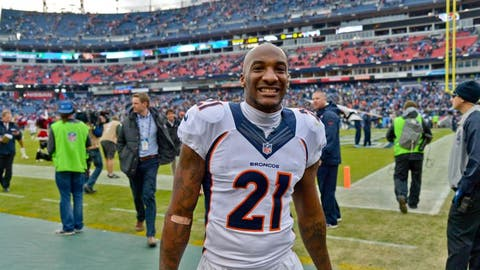 Aqib Talib doesn't like it when opposing receivers wear a necklace
