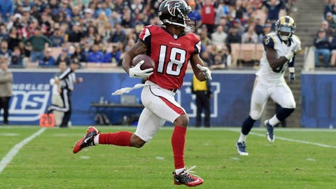 The Falcons have scored more touchdowns (6) in Los Angeles than the Rams (5).