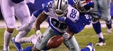 Cowboys winning streak snapped in second loss to Giants, 10-7