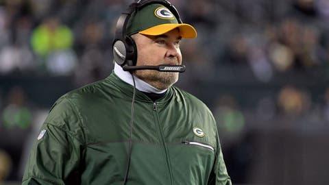 Mike McCarthy, Green Bay Packers (Last week: 8)