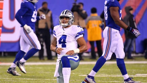 Dallas Cowboys: New York Giants
