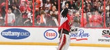 Senators to fans: Stop throwing hamburgers on the ice