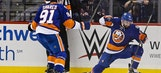 Nelson, Leddy rally Islanders to 3-1 win over rival Rangers