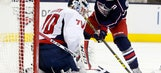 Backstrom, Ovechkin power 1st-place Caps past Blue Jackets