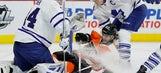 Matt Hunwick scores late to lead Toronto past Flyers, 3-2