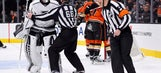 Column: There's a troubling new game in town: attack the ref