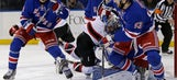Lundqvist makes 27 saves, Rangers win third in row