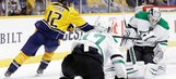 Stars slip past Predators 3-2 in OT