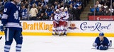 Stepan scores late to lift Rangers over Maple Leafs 4-2