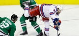 Klein scores with 2:53 left, Rangers beat Stars 3-2