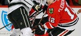 Versteeg, Kings beat slumping Blackhawks 5-0