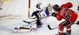 Frolik has hat trick, Monahan scores 2 as Flames stop Blues
