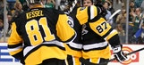 Crosby scores twice, Penguins rally by Hurricanes 4-2