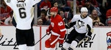 Penguins score 4 in 2nd period in 7-2 win over Red Wings