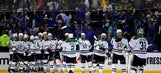 Cody Eakin scores in OT, Stars beat Blues 3-2 to tie series