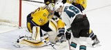 Overtime anyone? Predators, Sharks headed to 3rd OT tied 3-3