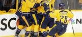 Series tied 2-2 as Predators beat Sharks 4-3 in triple OT