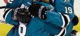 Sharks dominate from start in 5-0 Game 7 win vs. Predators