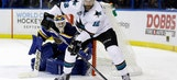 Sharks want more penalties called vs Blues in Game 2