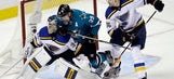 Blues to make goalie change for Game 4 against Sharks